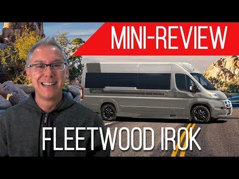 Mini-Review | 2019 Fleetwood IROK | A Quick 5 Minute Overview of A Promaster Class B Camper Van