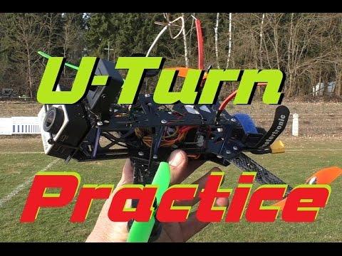 FPV Racing U-Turn Practice
