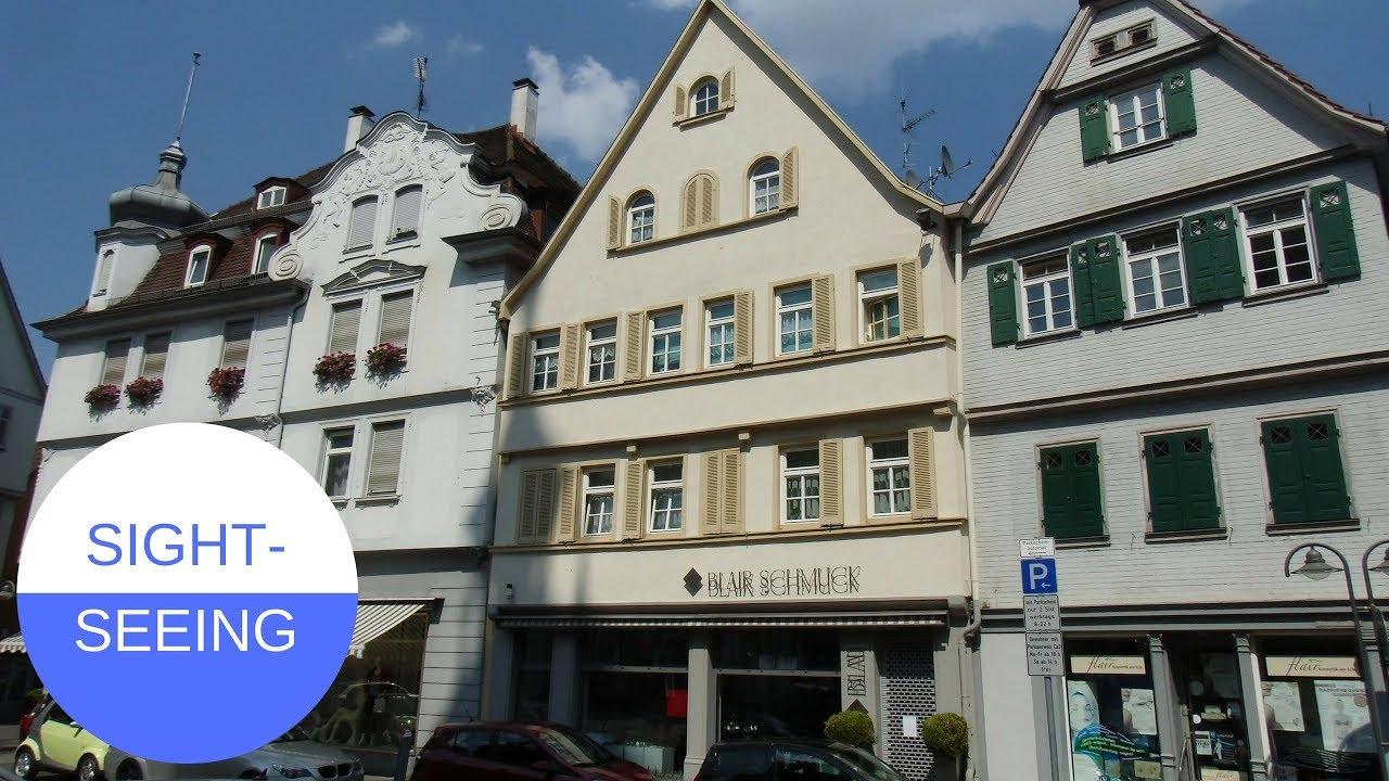 SIGHTSEEING in Stuttgart - Bad Cannstatt in GERMANY - YouTube
