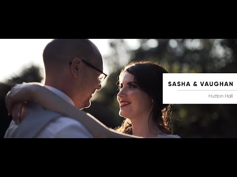 Hutton Hall Wedding Video - Sasha and Vaughan