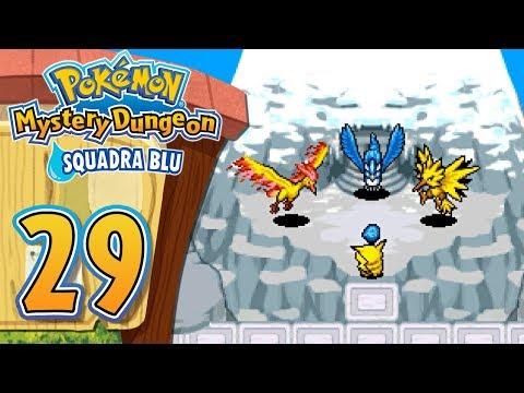 Pokemon Mystery Dungeon Squadra Blu ITA [Parte 29 - Fuoco, Ghiaccio E Fulmine]