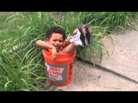 Mum, dad, help me! I'm stuck!  Funny kids and babies getting stuck compilation