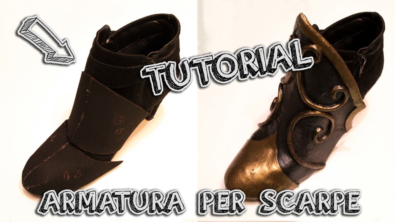 timeless design ce0c7 cf232 Armatura per scarpe - How to Cosplay