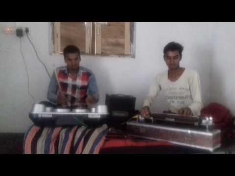 Dukalu yadav's song mor gaon k sitla dai tola bandav vo on benjo pad by govendra and takhat