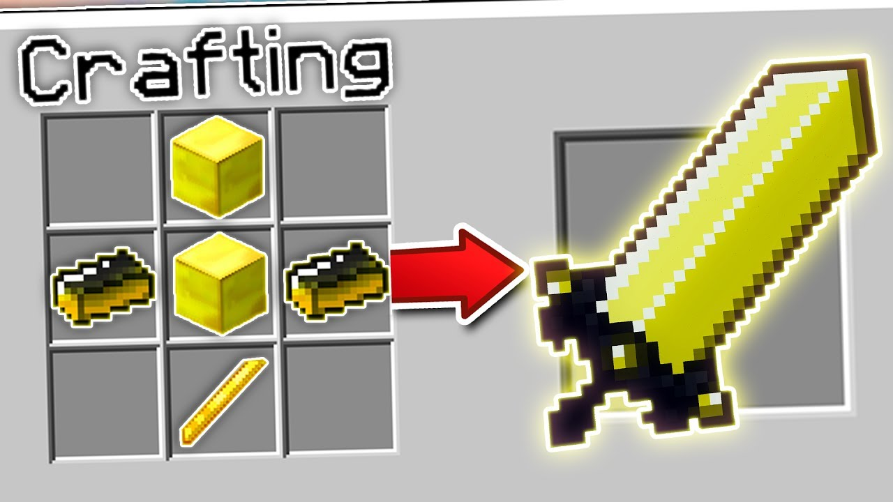 CRAFTING THE BIGGEST SWORDS IN MINECRAFT | Minecraft Mods (Huge Swords)