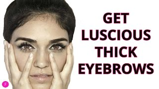 How To Get Thicker Eyebrows | 3 EASY Methods For Guaranteed Thicker Eyebrows!
