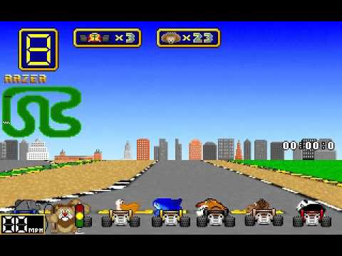 Wacky Wheels (Beavis-Soft) (MS-DOS) [1994]