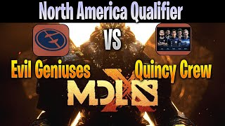 EG vs Quincy | NA Qualifier | MDL Chengdu LIVE 2019 | NO COMMENTARY |  Dota 2 Pro