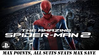 [PS4] The Amazing Spider-Man 2 - Max Tech Points, All Suits Max Level Save