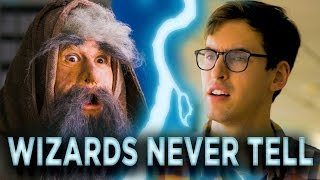 Assh*le Wizard Won\'t Reveal His Secrets