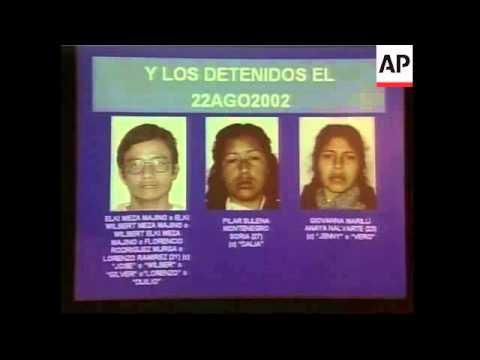 Peruvian government hits terrorist organization