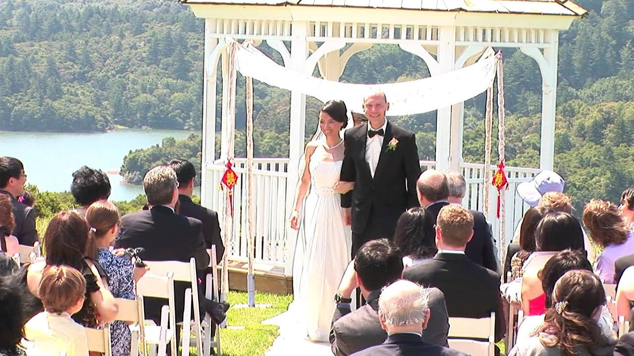 Crystal Springs Golf Course Wedding Ceremony Bay Area Videography You