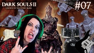 Dark Souls 2 Crown of the Ivory King DLC Part 7 - Burnt Ivory King Boss Fight