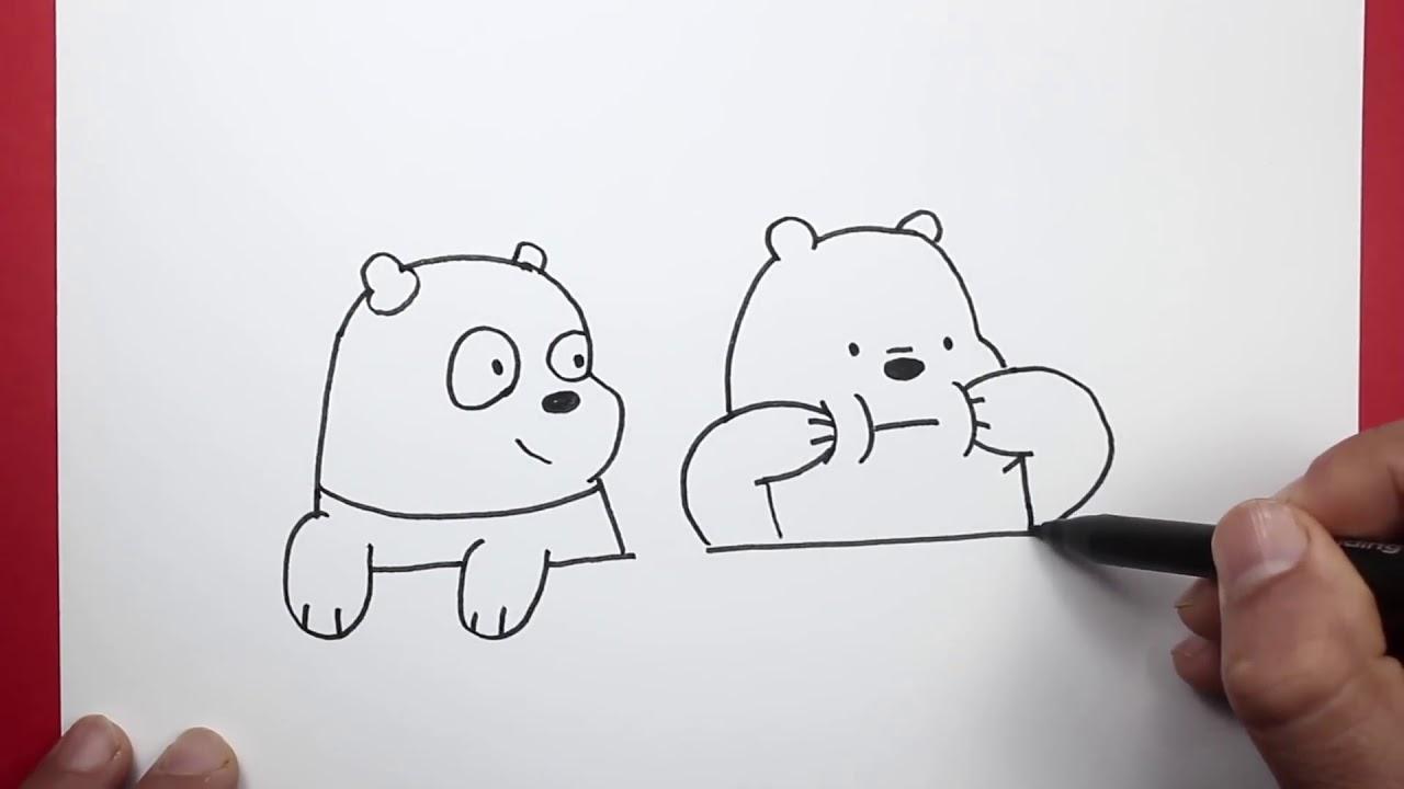 كرتون نتورك رسومات الدببة الثلاثة للتلوين