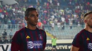El color azulgrana del partido: Monagas SC 1-0 Deportivo Lara