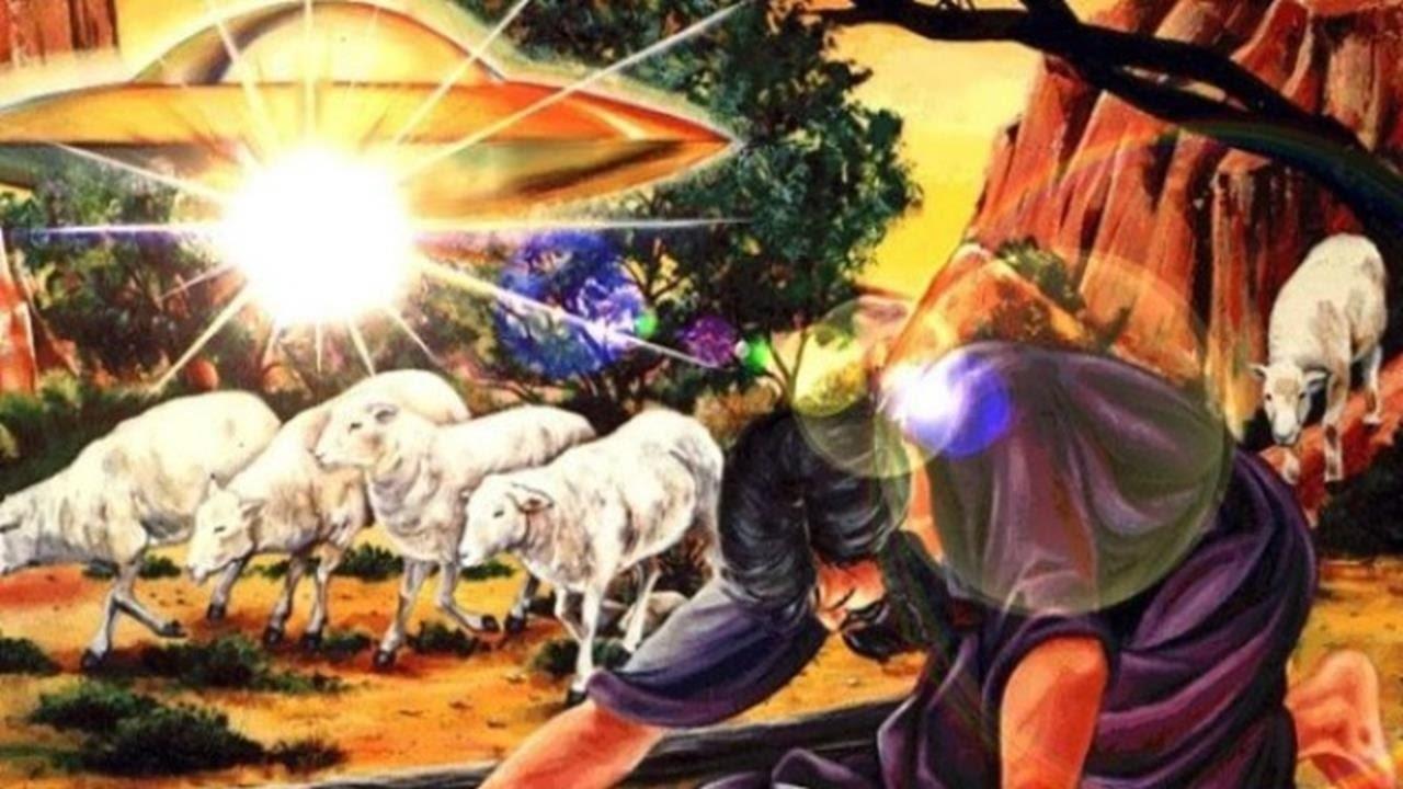 """7 niezwykłych opisów UFO w""""Biblii"""""""