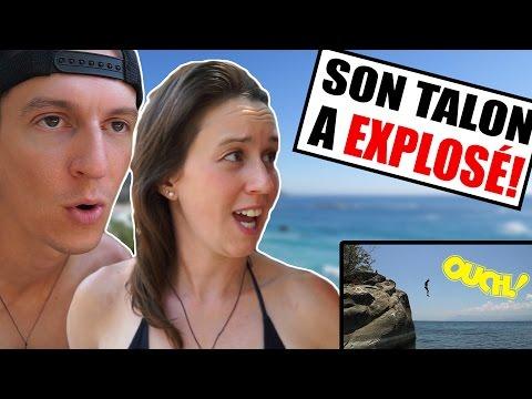 SON TALON A EXPLOSÉ! (Kande Beach, Malawi) | Alex & MJ - On the GO
