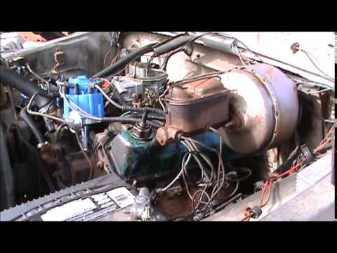 FIXING A FORD WRECKER WITH CHEVY PARTS HEI RETROFIT HOW TO !!!