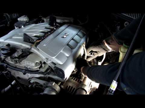 Снятие двигателя и Замена цепи Туарег 3.2 Volkswagen Touareg Часть 1: Снятие клапанной крышки.