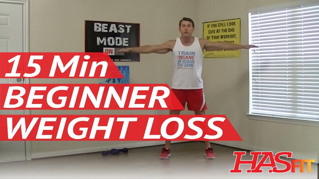 15 Min Beginner Workout For Weight Loss