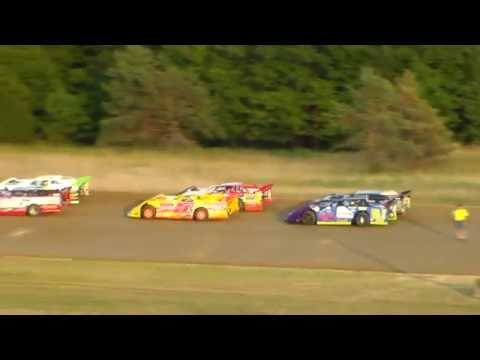 Dog Hollow Speedway - 8/5/16 Crate Late Model Heat Race #1