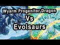 Wyarm the Progenitor Dragon Hieratic Vs Evolsaurs