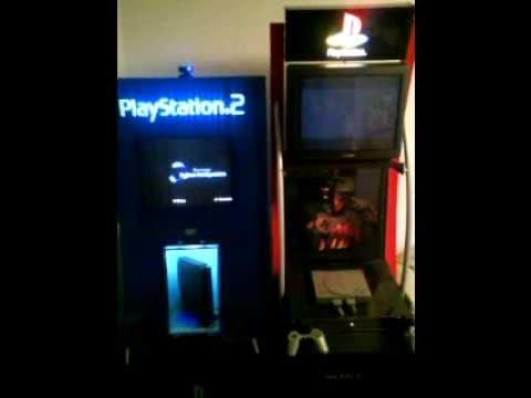 Playstation 1,Playstation 2 demo kiosk machines,psone,ps2 ...
