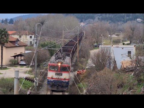Vlakovi Na Pruzi Sarajevo-Ploče/ Trains On Sarajevo-Ploče Railway Line