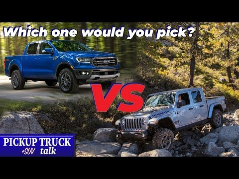 Pitting Ford Ranger vs Jeep Gladiator - Mid-Size Truck Comparison