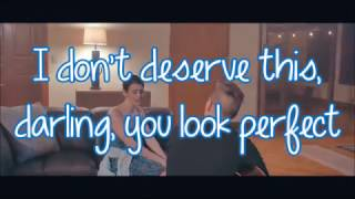 Tyler Ward & Lisa Cimorelli - Perfect (lyrics)