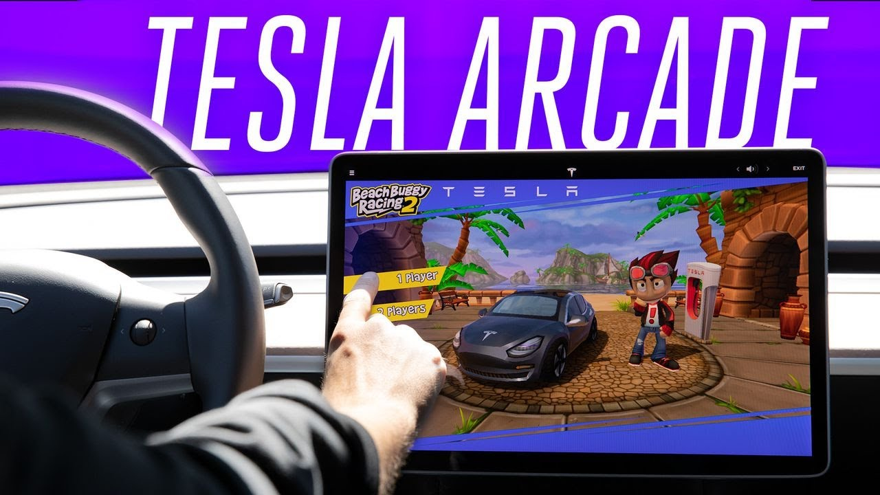 Tesla Arcade hands-on: using a Model 3 steering wheel as a