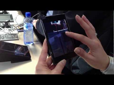 LG Optimus Vu - First Look