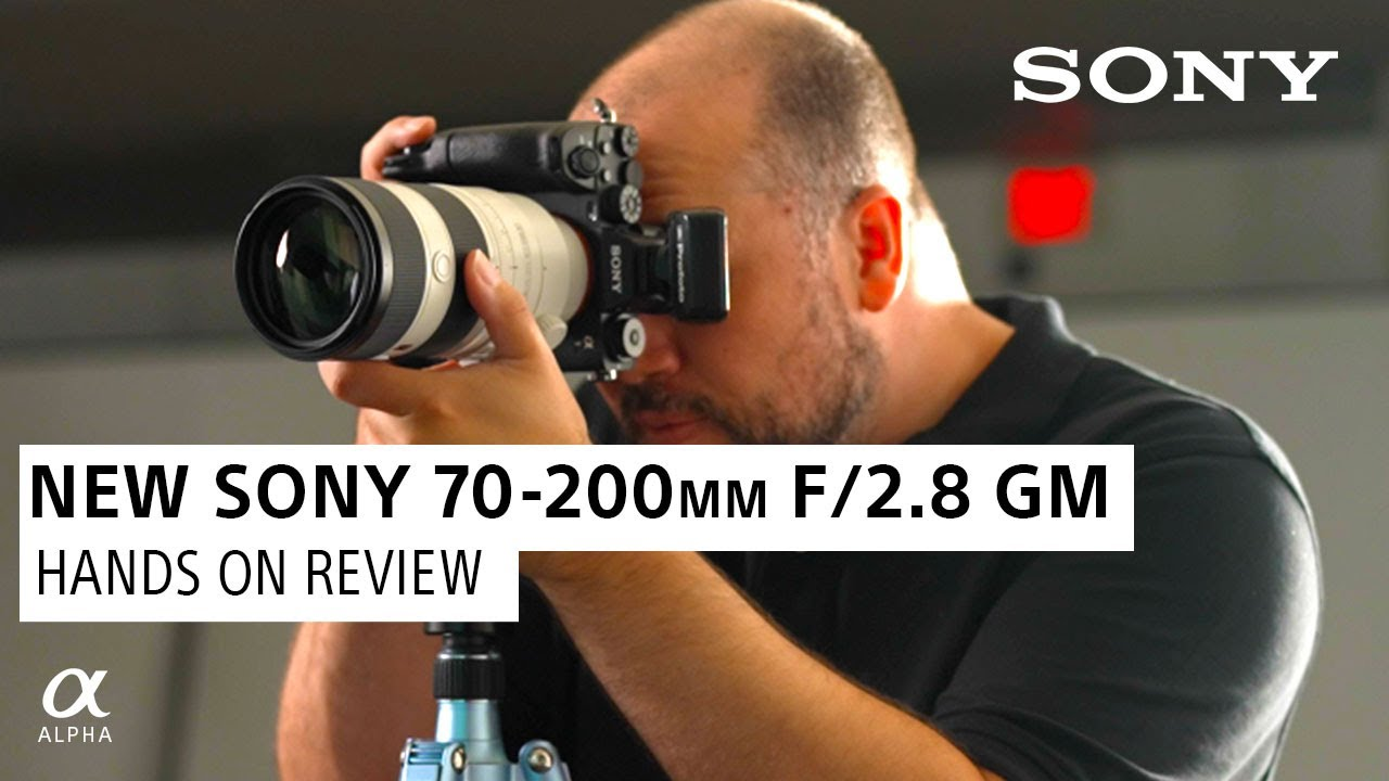 New Sony 70-200mm f/2.8 G Master II: First Look with Miguel Quiles