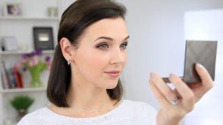Легкий макияж для свидания / Нюдовая палетка Dior и стрелки