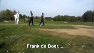Soccer Golf Masters & de swing van Willem van Hanegem onthuld