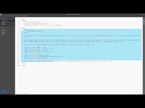 Easy JavaScript - onload event handler (19)