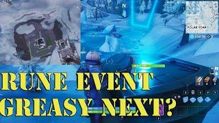 NEW Fortnite Rune Live Event Progress - Just past Greasy Grove - New Skin Gameplay