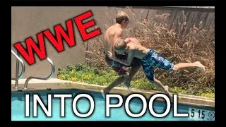 WWE MOVES INTO POOL!