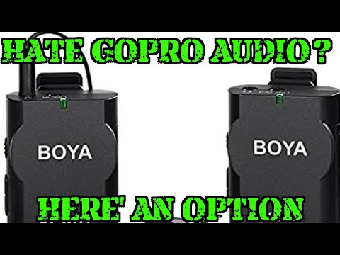 Boya BY-WM2G Wireless Mic For GoPro - Review