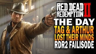 The Day Tag & Arthur Lost Their Minds   Red Dead Redemption 2 Fails