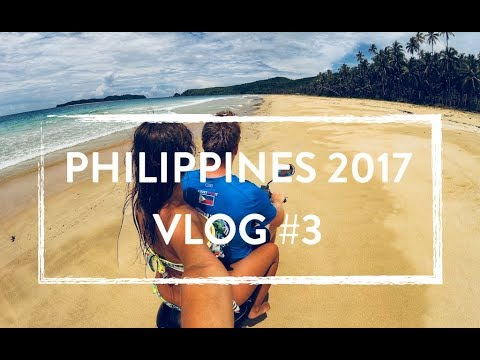 Filipíny 2017, vlog #3 - Palawan, El Nido, Nacpan Beach