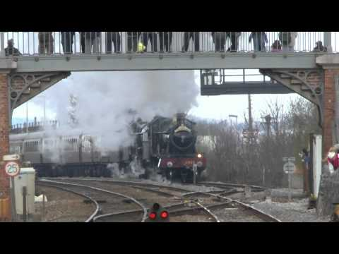 1Z49 4965 5043 The Cornishman Tyseley Steam Trust to Plymouth 27/04/2013