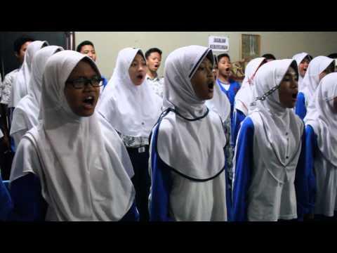Lagu Nasional Indonesia Jaya oleh Paduan Suara SMP Negeri 2 Cibinong
