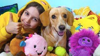 Челлендж с игрушками Тафи VS Лиза LizaTube