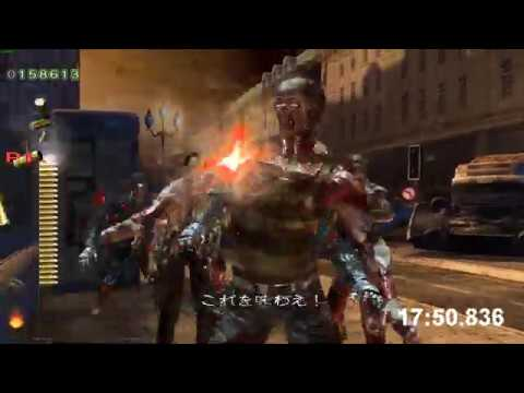 World Record The House Of The Dead 4 Arcadeemu Any 1p Speedrun Rta 24 23 Youtube