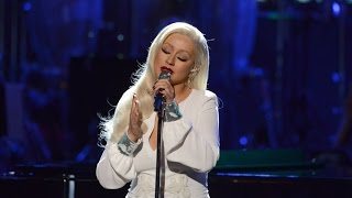 Christina Aguilera en Taking The Stage - Stormy Weather (Full performance) 2017