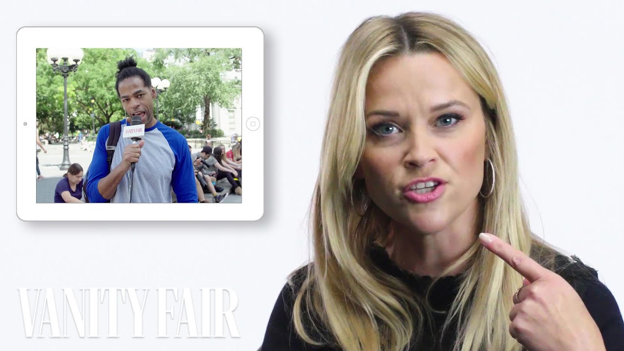 Reese Witherspoon Answers Questions From Random People Vanity Fair Youtube