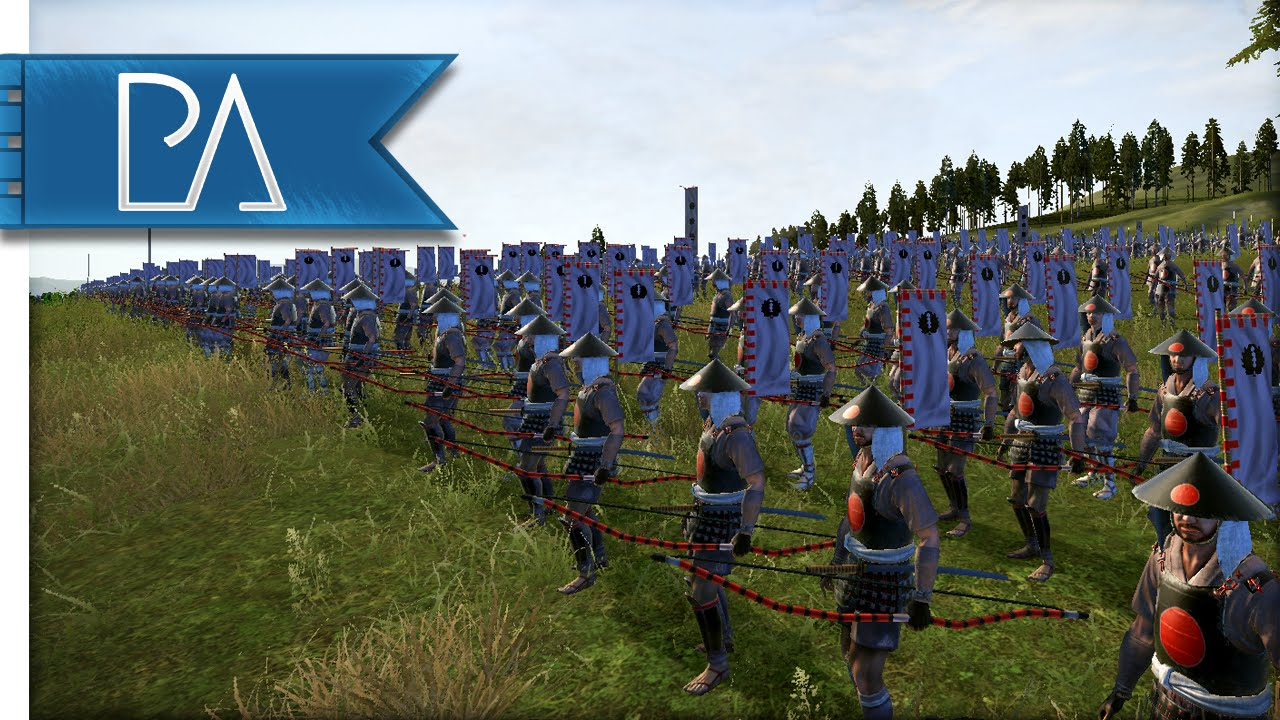 MIGHTY CAVALRY CHARGE – Shogun 2 Total War Gameplay