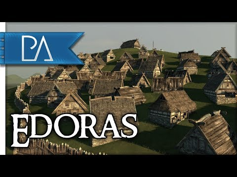 Siege of Edoras: Isengard Attacks! - Lord of the Rings - Total War: Rise of Mordor Mod Gameplay