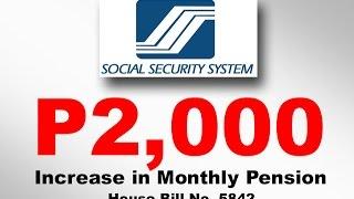 Napipintong dagdag sa monthly pension, malaking tulong — SSS pensioners